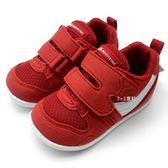 《7+1童鞋》小童 MOONSTAR 日本月星 十大機能Hi系列寶寶鞋 學步鞋 運動鞋 機能鞋 C442 紅色