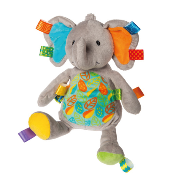 MARY MEYER 標籤安撫玩偶~葉子大象