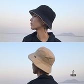 情侶雙面漁夫帽休閒盆帽平頂【愛物及屋】