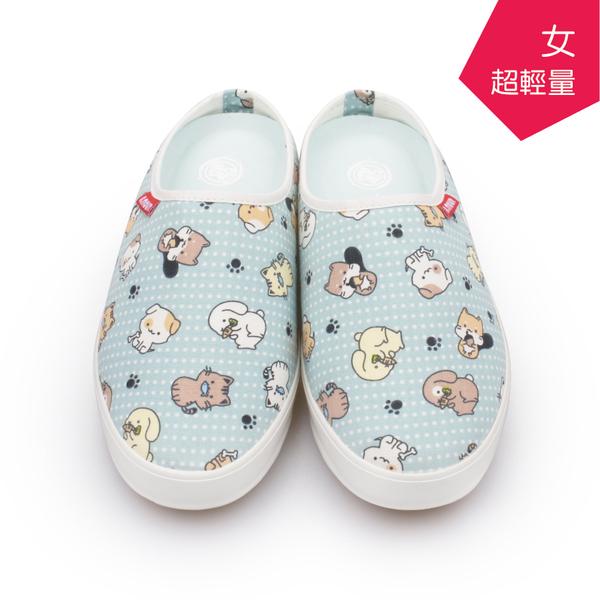 【A.MOUR 經典手工鞋】輕履系列-寵物藍 / 休閒鞋 / 平底鞋 / 柔軟布料 / 柔軟透氣 / DH-6568