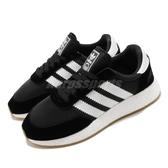 adidas 休閒鞋 I-5923 黑 白 女鞋 麂皮 Boost 復古慢跑鞋 三葉草 【ACS】 EE4957