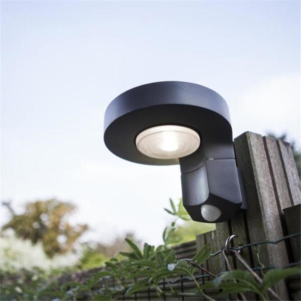 UME室外壁燈戶外簡約創意別墅景觀燈太陽能紅外感應led家用庭院燈 果果輕時尚