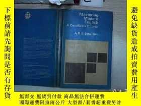 二手書博民逛書店Mastering罕見Modern English 掌握現代英語(009)Y203004
