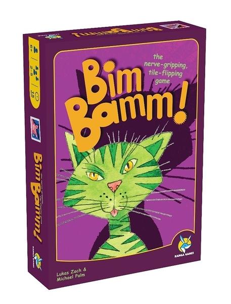 【KANGA GAMES】2021年度大降價 躲貓貓 Bim Bamm! 家庭益智派對桌上遊戲 中英版