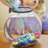 魔力沙水中取出干沙新奇整蠱科學玩具