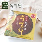韓國 Nokchawon 綠茶園 玉米鬚茶包 (50入) 75g 玉米鬚茶包 玉米鬚 茶飲 茶包 沖泡飲品 韓國飲品