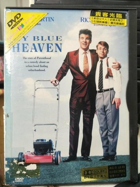 挖寶二手片-P14-306-正版DVD-電影【貴客光臨/My Blue Heaven】-新岳夫大人-史提夫馬丁(直購價)