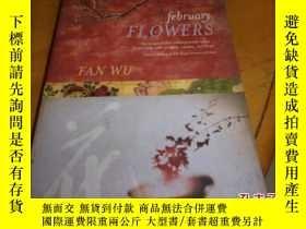 二手書博民逛書店february罕見FLOWERS--二月花;--英文原版Y12