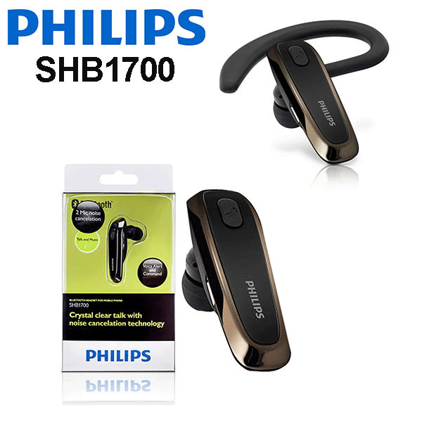 PHILIPS 飛利浦 SHB1700 耳掛入耳式藍牙耳機