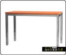 {{ 海中天休閒傢俱廣場 }} C-99 摩登時尚 餐廳系列 440-37 2.5X4尺美耐板餐桌/電鍍腳(顏色可挑選)