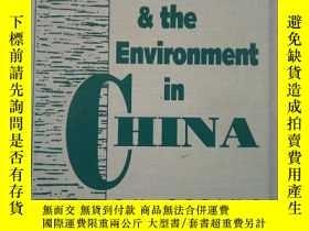 二手書博民逛書店Population罕見and the Environment in China (英文原版)Y24355