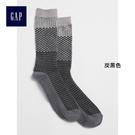 Gap女裝 柔軟舒適基本款中筒襪 349759-炭黑色