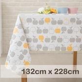 防水桌巾/布榖小蘋果 (XL) 【CasaBella 美麗家居】