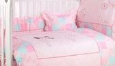 【ViVibaby】迪士尼星空七件寢具組(米奇藍)DSI26008B/花朵七件寢具組(米妮粉)DSI26008P