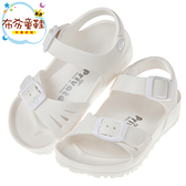 《布布童鞋》PRIVATE台灣製超輕量白色兒童涼鞋(15~22公分) [ Q8A891M ]
