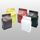 東尚咖啡袋MP250PZ+V半磅霧面口袋拉鍊平底袋Box Pouch+Pocket Zip(平底+霧面+拉練)=50個/盒(有氣閥)