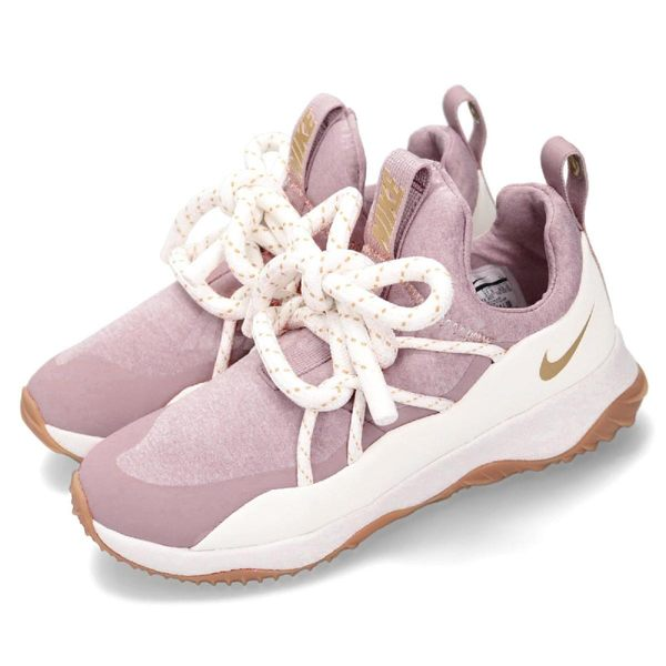 Nike 休閒慢跑鞋 Wmns City Loop 粉紅 白 粗鞋帶 襪套式 運動鞋 女鞋【PUMP306】 BQ6994-600
