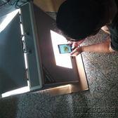 新款調光LED攝影箱珠寶首飾拍攝迷你小型攝影棚攝影燈箱道具 IGO