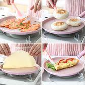 天天新品心宴6-10寸不粘平底鍋麥飯石班戟千層雞蛋糕皮攤煎餅果子烙餅煎鍋