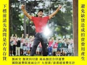 二手書博民逛書店Carmel罕見magazine Spring Summer 2019(Tiger Woods He s Back