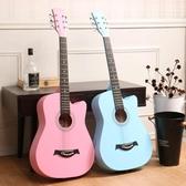 烏克麗麗尤克裏裏小吉他初學者全單板學生入門成人少女心兒童23寸民謠樂器LX 玩趣3C