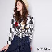 【網路獨賣】MOMA 機器人條紋上衣