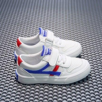 新款回力童鞋兒童帆布鞋男童運動鞋PU皮面板鞋女童布鞋透氣小白鞋【店慶8折促銷】