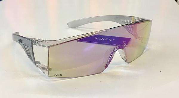 APEX防風眼鏡,1927,透明鍍電彩