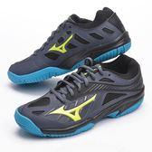 樂買網 MIZUNO 18SS 兒童款排羽球鞋 Lightning-Z4-Jr V1GD180347 藍x黑x黃
