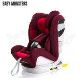 【預購-10月到貨】西班牙 Baby Monsters Guardia 0-12 isofix 全階段汽車安全座椅/汽座-火紅