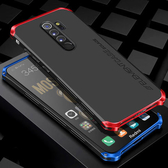 小米 紅米note8 Pro 紅米note8 手機殼 創意 金屬邊框+PC背板 全包 防摔 螺絲 拼接款 保護殼