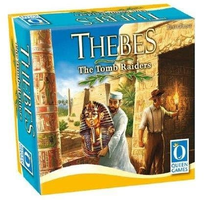 『高雄龐奇桌遊』 底比斯的遠方 卡牌版 Thebes The Tomb Raiders ★正版桌上遊戲專賣店★