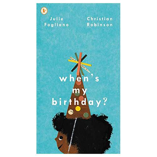【麥克書店】When's My Birthday?幽默趣味英文圖畫童書繪本