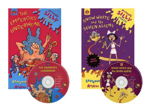 【麥克書店】Snow White and the Seven Aliens & The Emperor's Underwear/2書+2CD