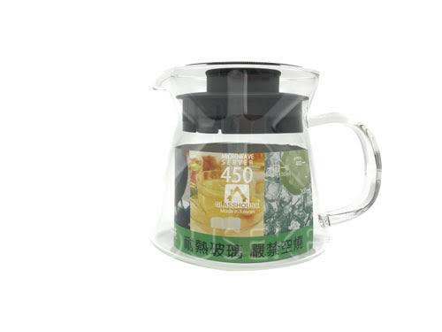 【好市吉居家生活】GLASSHOUSE B450 耐熱玻璃壺 咖啡壺 花茶壺 玻璃茶壺
