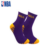 NBA 湖人隊 毛圈緹花中筒襪 MIT 運動配件 中筒襪 運動襪 籃球襪