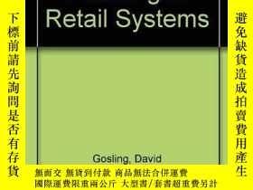 二手書博民逛書店Design罕見and Planning of Retail S