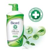 蜜妮 Biore 淨嫩沐浴乳抗菌清爽型(綠茶香) 1000ml
