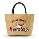 小禮堂 Hello Kitty 藤編側背...