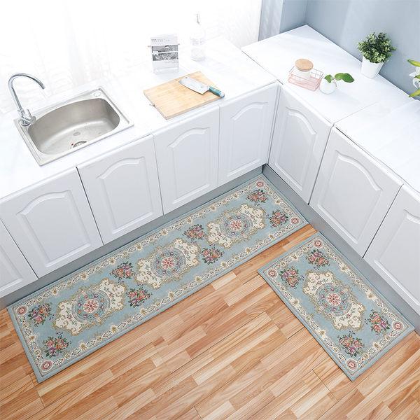 歐式廚房地墊長條防油腳墊衛浴門口防滑吸水門墊臥室床邊家用地毯限時八九折