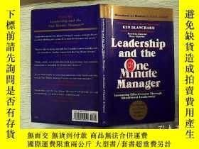 二手書博民逛書店Leadership罕見and the One Minute M