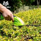 割草機 沃施worth 小型割草機電動剪草機電動綠籬剪家用割草機鋰電打草機T