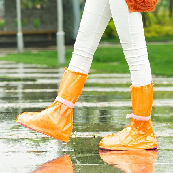 【00353】 防水鞋套 加厚防滑雨鞋套 高筒雨靴套