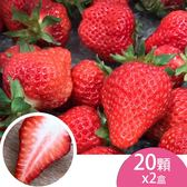 (2盒)天藍果園-大湖草莓(20顆)含運組