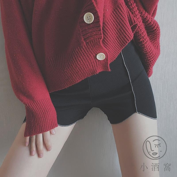 彈力舒適內褲打底褲女防走光不卷邊安全褲平角薄款