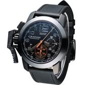 GRAHAM 格林漢 左冠計時機械腕錶 2CCAU.B01A.L44N