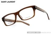 Saint Laurent 光學眼鏡 YVES6J K7M (透棕) 經典重現 # 金橘眼鏡