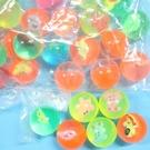 小彈力球 25mm水撈球 (有圖)彈跳球 跳跳球/一大袋100個入{定3}水漂球 橡膠球玩具~YF10656