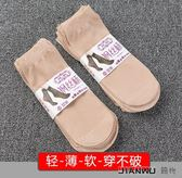 防勾絲肉色對對襪天鵝絨水晶絲防滑