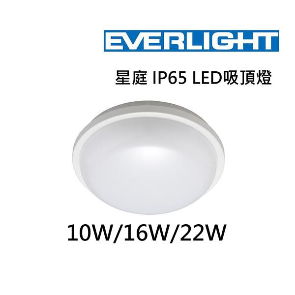 【燈王的店】億光星庭 LED 10W 防水吸頂燈 IP65 黃光/白光可選 PE0278EL-10